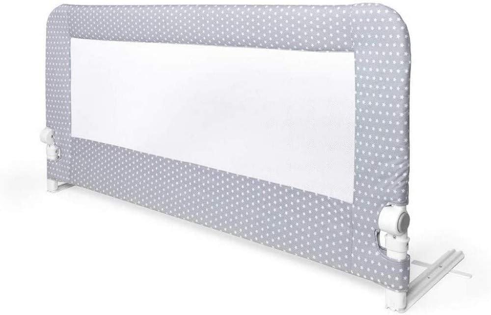 INTERBABY - Barrera de cama Abatible 1.50 cm Estrella