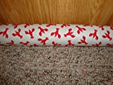 Door Draft Stopper Scented Balsam/Unscented Buckwheat- Standard 2'' X 38'' - Little Lobsters - Quality USA Made (Unscented)