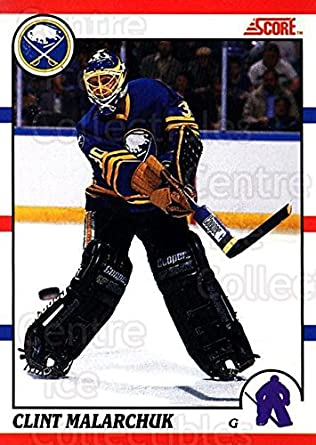 Amazon Com Ci Clint Malarchuk Hockey Card 1990 91 Score Canadian