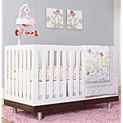 Just Born Crib Bedding Set, Botanica Butterfly