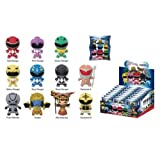 Mighty Morphin Power Rangers Figural Key Chain Random 6-Pack
