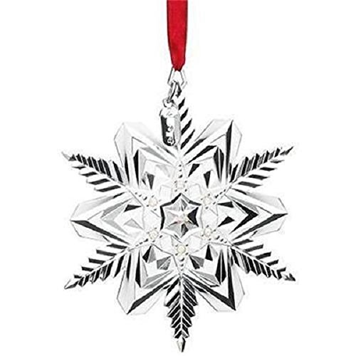 Lenox Snow Majesty Metal Ornament Not Dated Lenox - Stores Lenox Retail