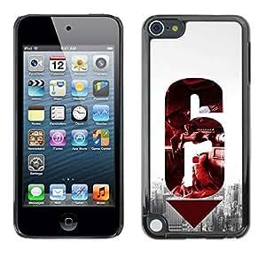 Paccase / SLIM PC / Aliminium Casa Carcasa Funda Case Cover para - 6 Gun - Apple iPod Touch 5