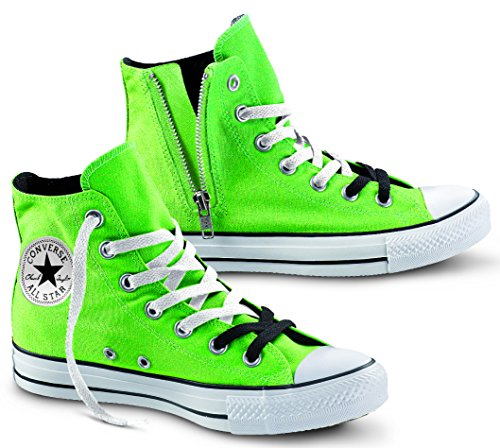Converse Ct Side Hi Zip 138517c Uomo - Donna - Unisex Mode Schuhe [5,5 US - 38 IT]