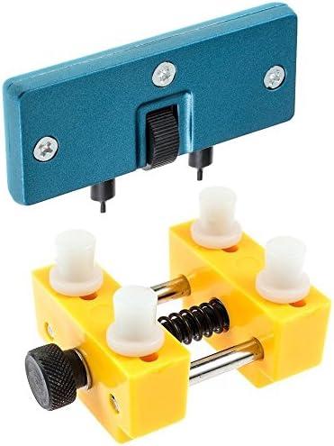 Zacro Kit Riparazione Orologio Strumenti Apertura e Supporto Orologio per Orologiaio