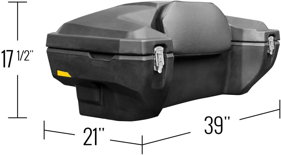 66010 Renewed Includes All Mounting Hardware Black Boar Atv Rear Storage Box And Lounger Luggage Racks