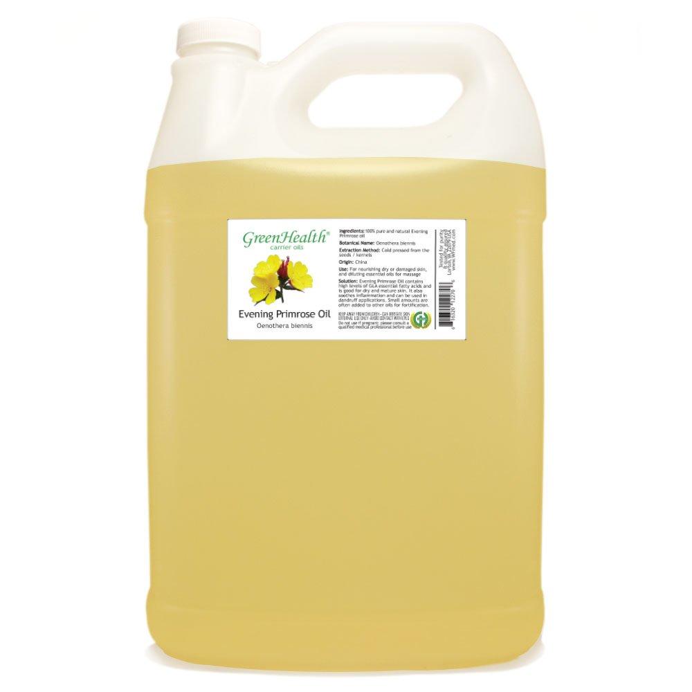 GreenHealth Evening Primrose Oil - 1 Gallon - 100% Pure Cold Pressed by GreenHealth