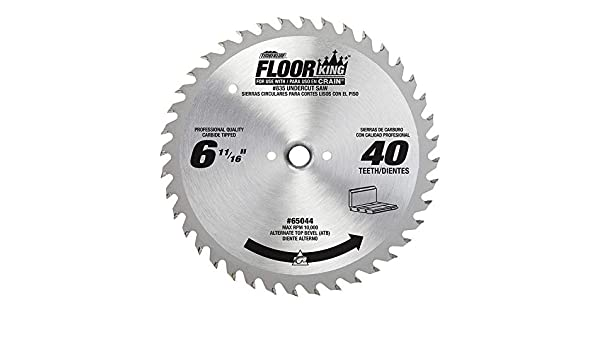 Crain Cutter 821C 6-1//2-Inch 40 Tooth Wood Saw Blade for 812 and 825 Saw 2Pack