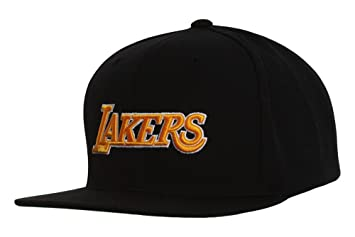 5ceaa5fc532ea9 ... discount code for los angeles lakers mitchell and ness nba current wool  solid 2 snapback cap