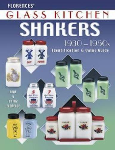 (Florence's Glass Kitchen Shakers 1930-1950s)