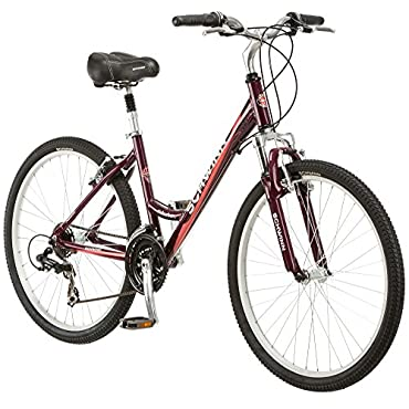 Schwinn Womens 21 Speed Suburban CS 26 Upright Comfort Cruiser Hybrid Bike