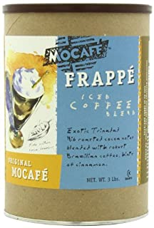 MOCAFE Frappe Original MOCAFE Ice Blended Coffee, 3-Pound Tin Instant Frappe Mix, Coffee House Style Blended Drink Used in Coffee Shops (B001ABUY9K) | Amazon price tracker / tracking, Amazon price history charts, Amazon price watches, Amazon price drop alerts