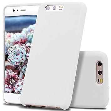 Vankii Funda Compatible Huawei P10, Slim Líquido de Silicona ...