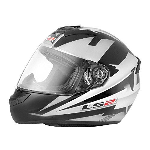 LS2 Helmet - FF352-L Rookie Dyno Black White