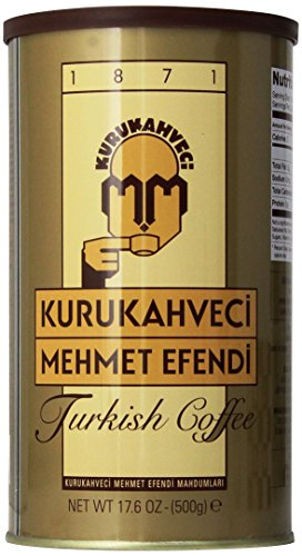 Kurukahveci Mehmet Efendi Turkish Coffee,17.6 Ounce