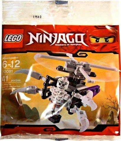 Amazon.com: LEGO Ninjago Exclusive Mini Figure Set #30081 Skeleton ...