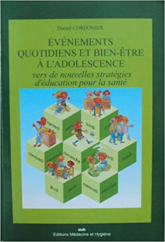 Evenements Quotidiens Et Bien Etre A L Adolescence Amazon