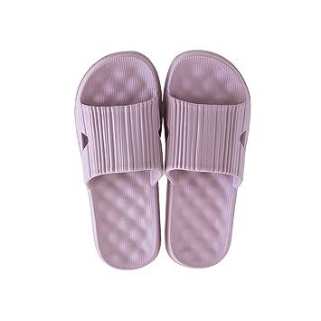 Chanclas Adulto AUGAUST Zapatillas de Playa de Verano Toe Grueso para Mujeres No Hay Olor Fácil de Limpiar Puede usarse una Ducha (Color : C, ...