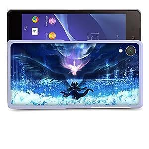 Case88 Designs Puella Magi Madoka Magica Madoka Madoka Kaname & Homura Akemi Protective Snap-on Hard Back Case Cover for Sony Xperia Z2