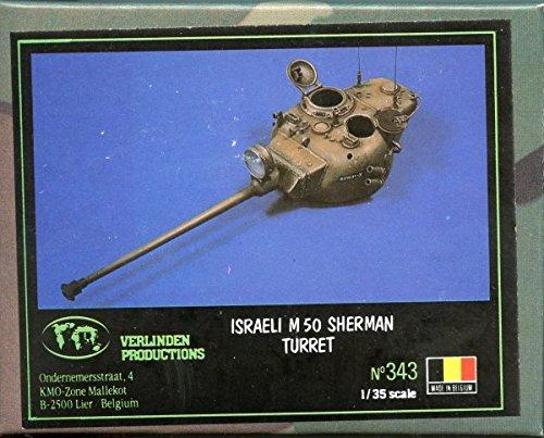 (Verlinden Productions 1:35 Israeli M50 Sherman Turret Resin Detail Set #343)