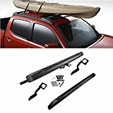 Eapmic Roof Rack Crossbars Roof Luggage Racks for 2009-2018 Toyota Tacoma Double Cab