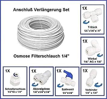 Wasseranschluss Verbinder Set 1 4 Zoll Adapter Fur Wasserfilter