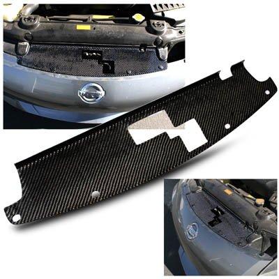 Remix Custom 03-07 Nissan 350Z Z33 Carbon Fiber Engine Radiator Air Diversion Cooling Panel (Cooling Panel Radiator)