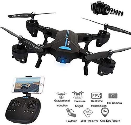 WiFi Video-/Übertragung Modell 2020 mit Full-HD Kamera zusammenfaltbare Drohne HBS Hubsons/® Aquila GPS Multicopter