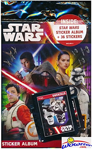 2016-topps-star-wars-the-force-awakens-sticker-special-collectors-starter-kit-with-64-page-collector