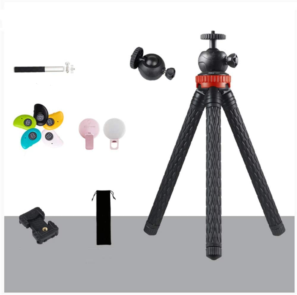 Compact Lightweight Selfie Mini Portable Universal Camera Tripod Basic Smart Powder