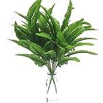 Artfen-Artificial-Plants-2pcs-Persian-Leaves-Artificial-Shrubs-Leaves-Faux-Shrubs-Simulation-Greenery-Bushes-Artificial-Flower-Home-Garden-Office-Verandah-Wedding-Decor-17-inch-high