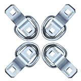 Robbor D Ring,Tie Down Anchor 4 Pk Surface Mount
