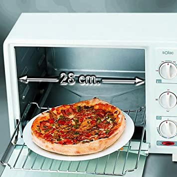 Solac N314 Convection Oven 20L - Horno (Horno eléctrico, 20 L, Blanco,