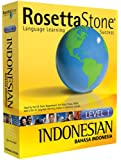 Rosetta Stone Level 1 Indonesian (PC/Mac)