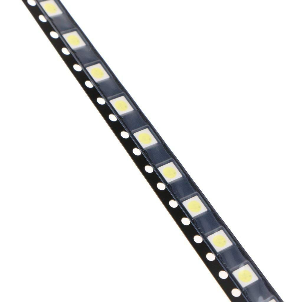 Reparar Tv SODIAL 100Pzs 3535 Smd Perlas de La Lampara 3V Especialmente Para Tira de Luz de Fondo de Tv Led