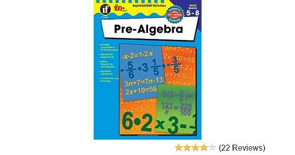 The 100+ Series Pre-Algebra: Mary Lee Vivian, Margaret Thomas ...