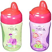 Philips AVENT My Sip N Click 2 Piece Cup, Purple/Green