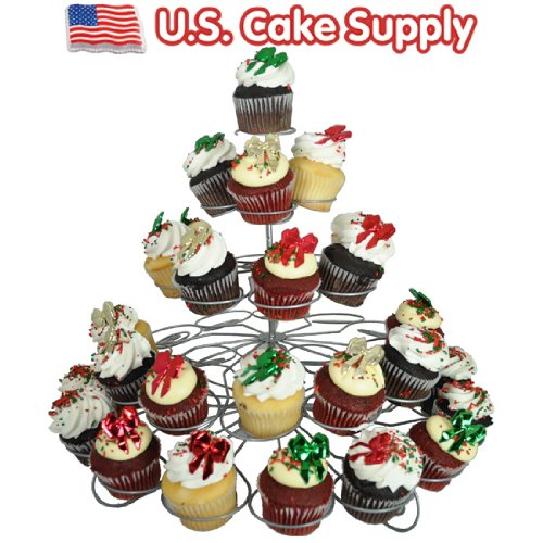(41-Count Light-weight 5-Tier Metal Dessert and Cupcake Stand)