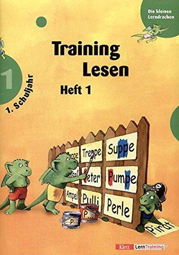 Die kleinen Lerndrachen, Training, Training Lesen, 1. Schuljahr