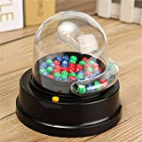 New Electric Lucky Number Picking Machine Mini Lottery Bingo Games Shake Lucky Ball By KTOY