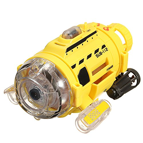 My Toots Silverlit Remote Control Infrared RC Submarine with 0.3MP Camera and Light Feed The Fish Toy for Kids