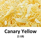 Crinkle Cut Paper Shred Filler (1 LB) for Gift Wrapping & Basket Filling - Canary Yellow | MagicWater Supply