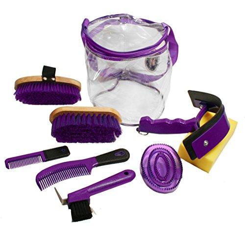 Derby Deluxe 9 Item Horse Grooming Kit
