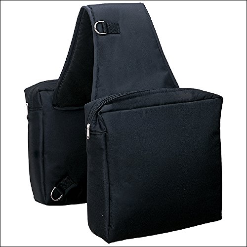 Saddlebags Horse Leather (Weaver Leather Heavy-Duty Nylon Saddle Bag)