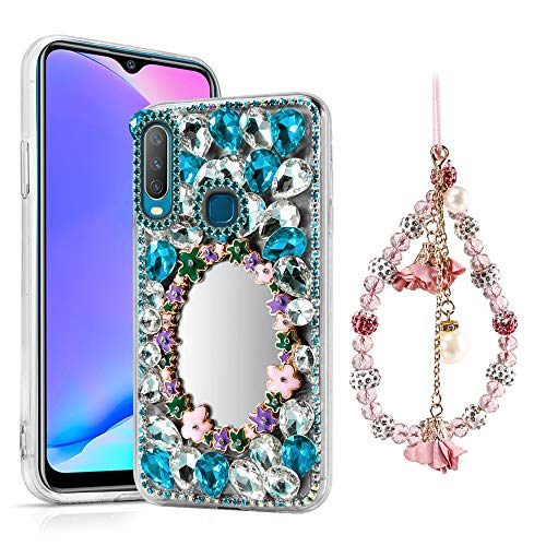 Scheam Fashion Style 2 Phone case case Compatible with Vivo Y17, Drop Protection Bumper Durable Bumper Cover case Compatible with Vivo Y17
