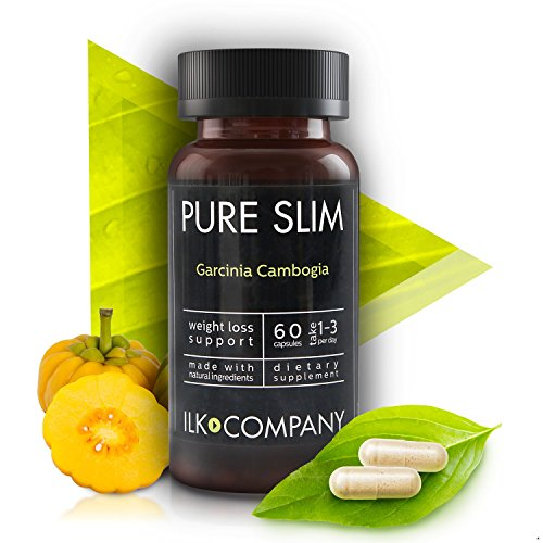 100% Garcinia Cambogia Weight Loss - Fast Acting Appetite Suppressant For Women & Men - Fat Burner Pills - Made In USA - 60 Vegetable (Quick Weight Loss)