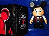"Disney Vinylmation Mickey Mouse as Ambassador Cast Member Exclusive 3"" Figure with Tin"