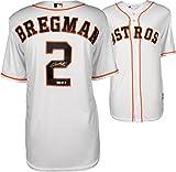 Alex Bregman Houston Astros Autographed Majestic White Replica Jersey - Fanatics Authentic Certified