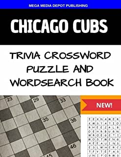 Chicago Cubs Trivia Crossword Puzzle and Word Search Book  sc 1 st  Amazon.com & Chicago Cubs Crossword Puzzle Book (Crossword Puzzle Books (Cider ... 25forcollege.com