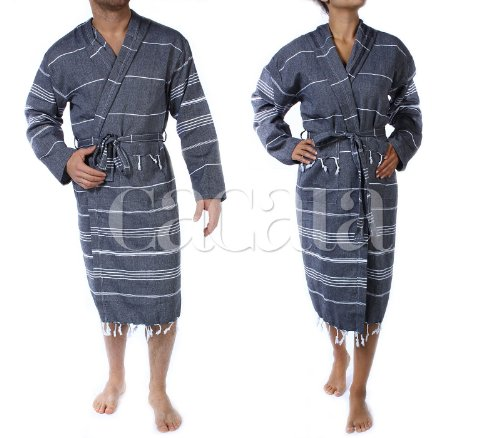 Hooded Bathrobe Pestemal Turkish Cacala product image